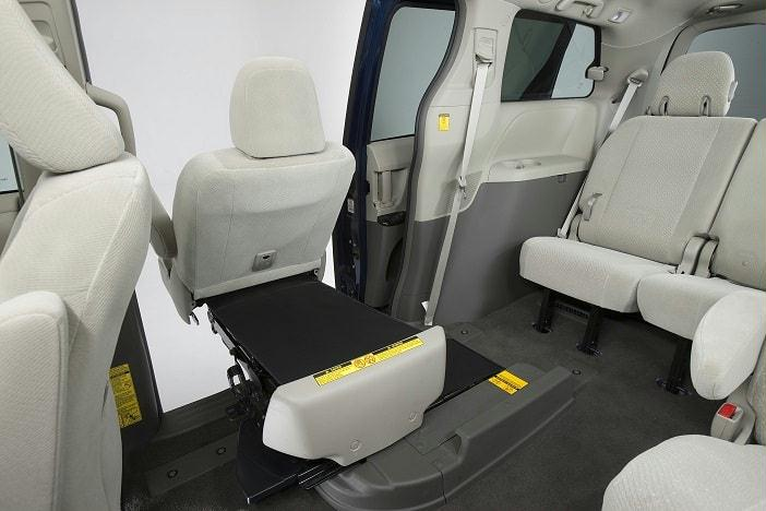 Toyota Sienna Minivan with Mobility Access Seat 3