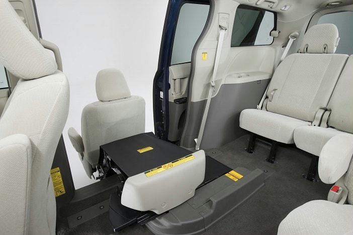 Toyota Sienna Minivan with Mobility Access Seat 4