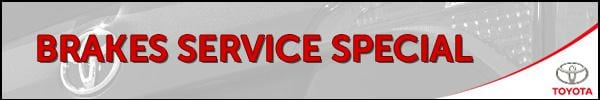 Brakes Service Special - $50 Off