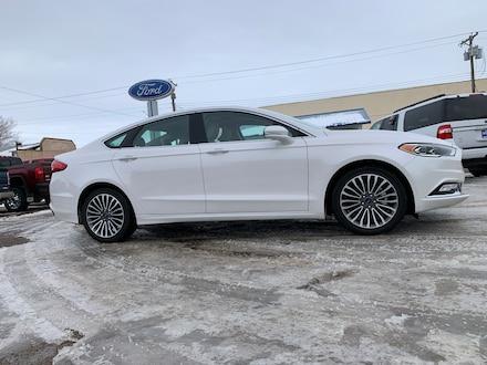 2018 Ford Fusion Titanium AWD Sedan