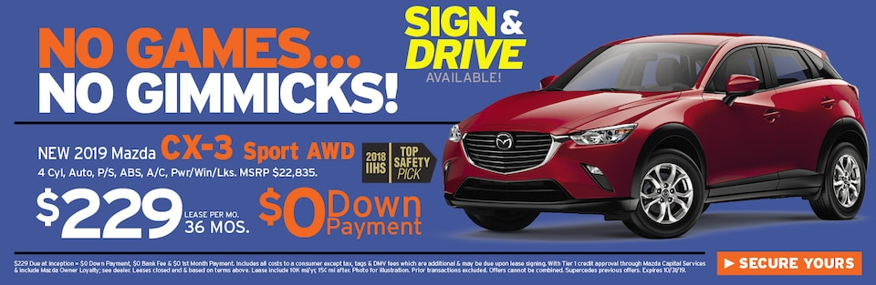 CX-3 Special Offer