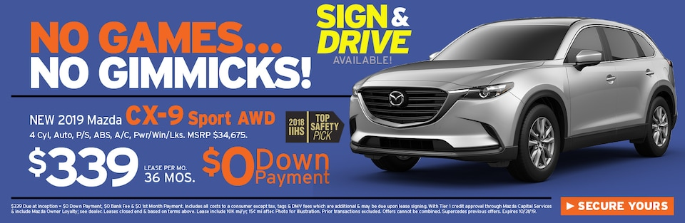 CX-9 Special Offer