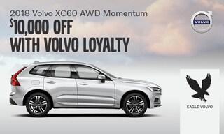 2018 Volvo XC60 AWD Momentum