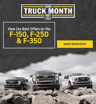 View Our Best Offers on the F-150, F-250 & F-350