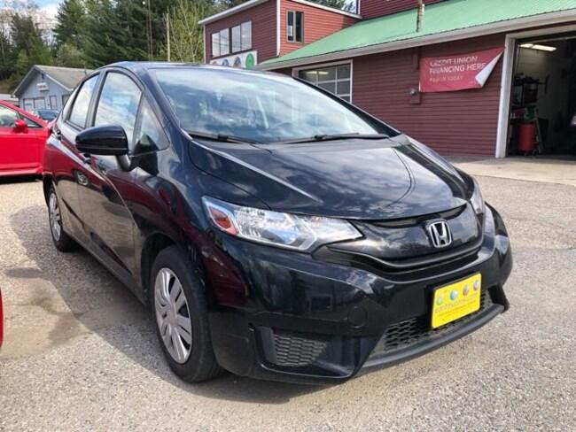 Used 2016 Honda Fit LX Hatchback JHMGK5H52GX016237 for sale Williston near Burlington, VT
