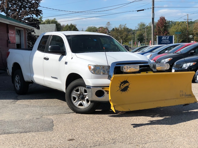 Used 2010 Toyota Tundra W/ Plow Truck Double Cab for sale Williston near Burlington, VT