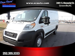 2019 Ram ProMaster 1500 CARGO VAN HIGH ROOF 136 WB Cargo Van In Greenville, NC