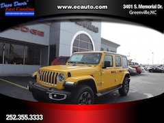 2019 Jeep Wrangler UNLIMITED SAHARA 4X4 Sport Utility In Greenville, NC