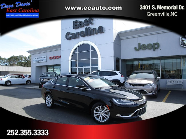 Certified Pre-Owned 2016 Chrysler 200 LIMI Sedan for sale in Washington, NC