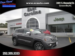 Used 2017 Jeep Grand Cherokee Limited SUV in Greenville, NC