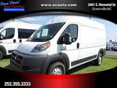 2018 Ram ProMaster 1500 CARGO VAN HIGH ROOF 136 WB Cargo Van In Greenville, NC