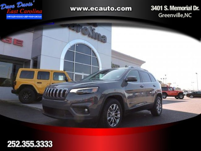 2019 Jeep Cherokee LATITUDE PLUS FWD Sport Utility Greenville, NC