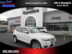 Used 2017 BMW X3 Sports Activity Vehicle SAV in Greenville, NC
