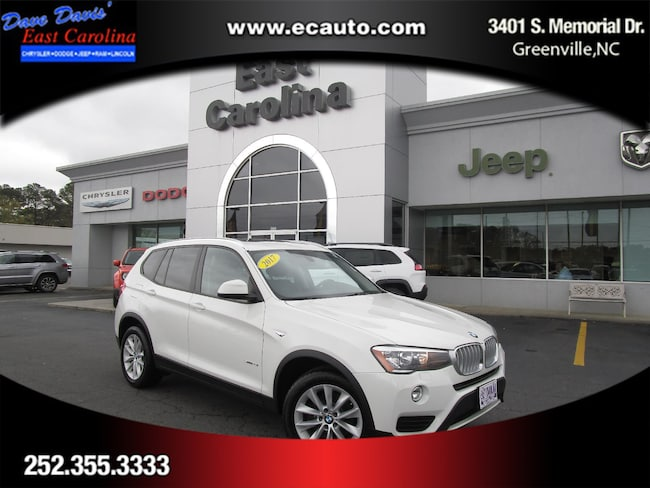 2017 BMW X3 Sports Activity Vehicle SAV Greenville, NC