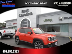 Used 2015 Jeep Renegade Latitude SUV in Greenville, NC