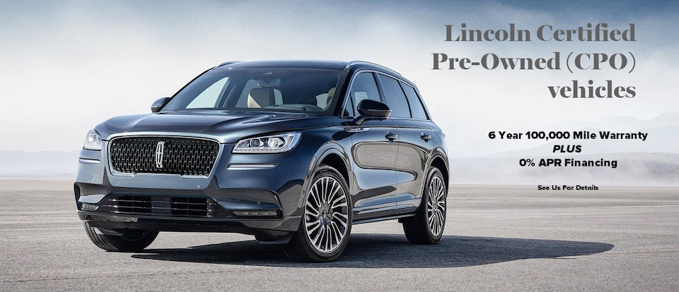 Lincoln Certified Pre-Owned Specials