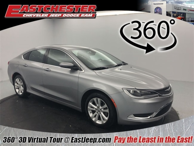 Used 2015 Chrysler 200 Limited Sedan for sale in Bronx, NY