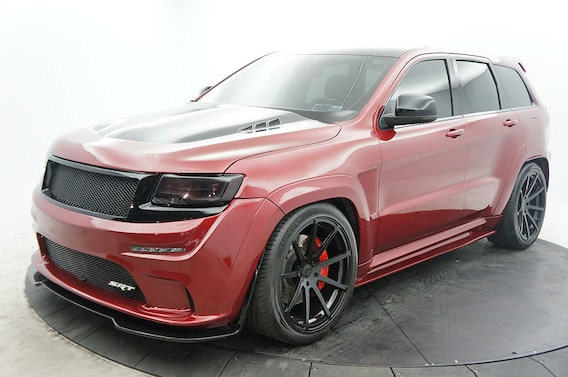 Custom Jeep Grand Cherokee >> Custom Jeep Grand Cherokee Srt Eastchester Chrysler Jeep Dodge