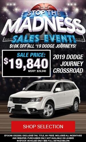 New 2019 Dodge Journey Crossroad