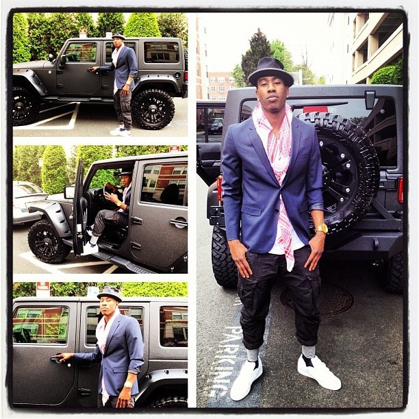 be8996944e90 Iman Shumpert Custom Jeep by Eastchester Customs