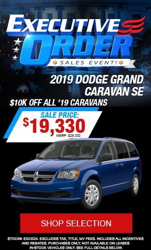 2019 Dodge Grand Caravan SE
