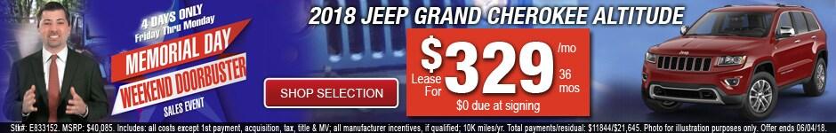 New 2018 Jeep Grand Cherokee Altitude