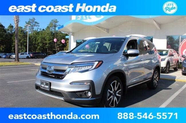 New 2019 Honda Pilot Touring 8-Passenger FWD SUV Myrtle Beach, SC