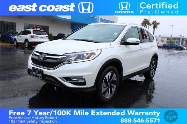 Certified 2016 Honda CR-V Touring w/Navigation, Bluetooth SUV Myrtle Beach, SC