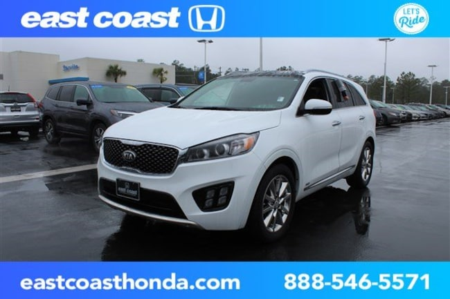 Used 2016 Kia Sorento SXL w/8 Person Seating SUV Myrtle Beach, SC