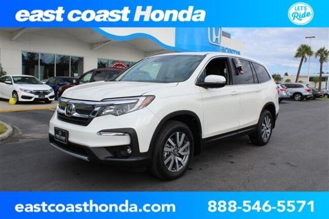 New 2019 Honda Pilot EX-L w/Navi & RES AWD SUV Myrtle Beach, SC