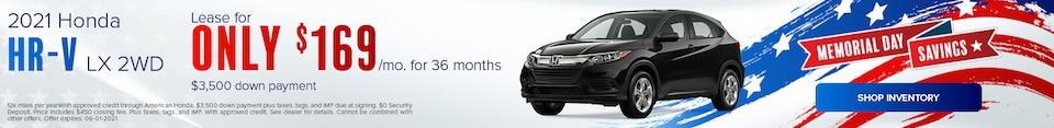 2021 Honda HR-V LX 2WD