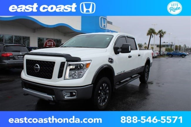 Used 2017 Nissan Titan XD PRO-4X Low Miles, Navigation Truck Crew Cab Myrtle Beach, SC