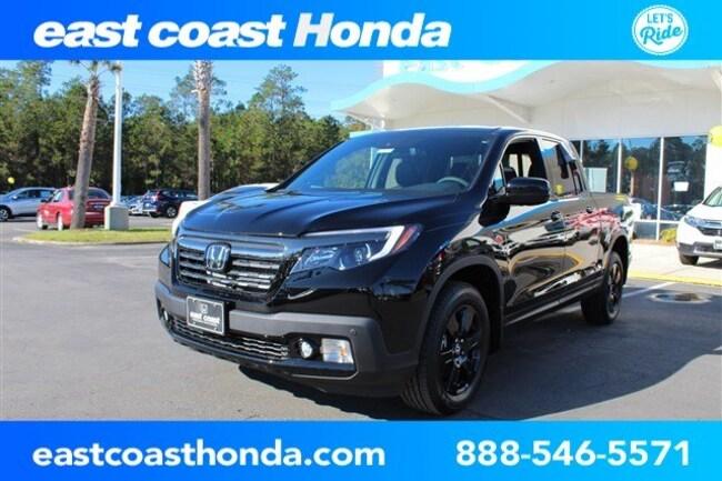 New 2019 Honda Ridgeline Black Edition AWD Truck Crew Cab Myrtle Beach, SC