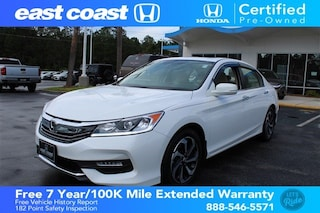 Certified 2016 Honda Accord EX Low Miles, Sunroof Sedan Myrtle Beach, SC