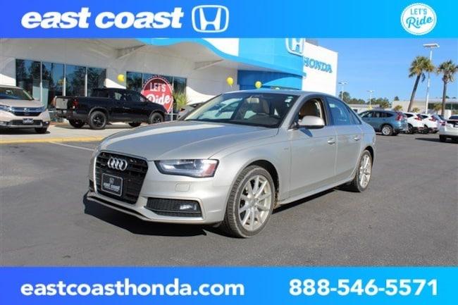 Used 2014 Audi A4 Premium Plus w/Navigation Sedan Myrtle Beach, SC