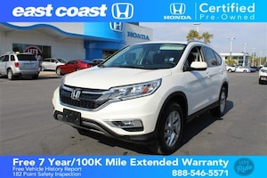 2016 Honda CR-V EX-L AWD w/Sunroof, Bluetooth