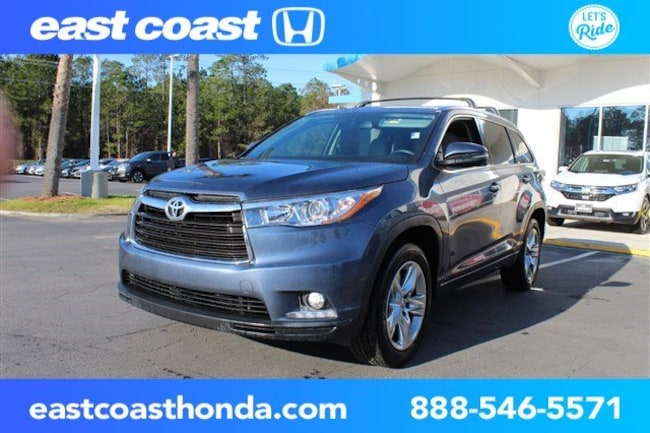Used 2015 Toyota Highlander Limited w/Navigation, JBL Sound SUV Myrtle Beach, SC