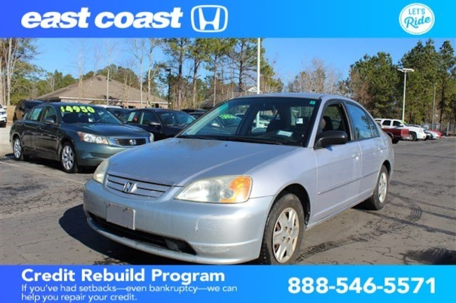 Used 2003 Honda Civic LX Sedan Myrtle Beach, SC