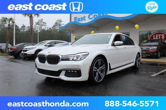 Used 2016 BMW 740 740i w/Navigation, HUD 1Owner Sedan Myrtle Beach, SC