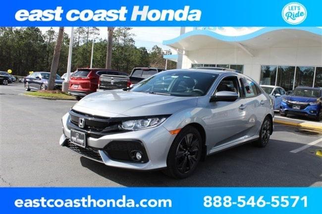 New 2019 Honda Civic EX Hatchback Myrtle Beach, SC