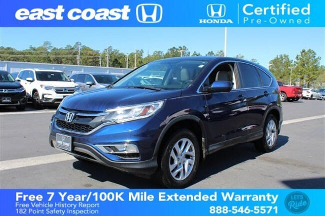 Certified 2016 Honda CR-V EX Low Miles, Sunroof SUV Myrtle Beach, SC
