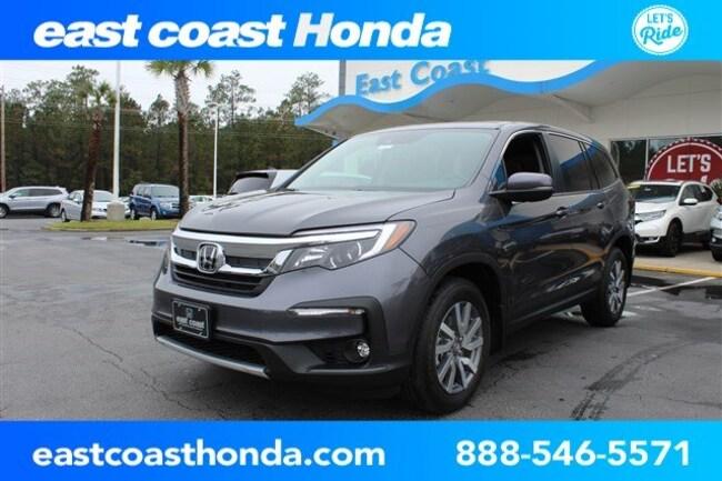 New 2019 Honda Pilot EX-L w/Navi & RES FWD SUV Myrtle Beach, SC