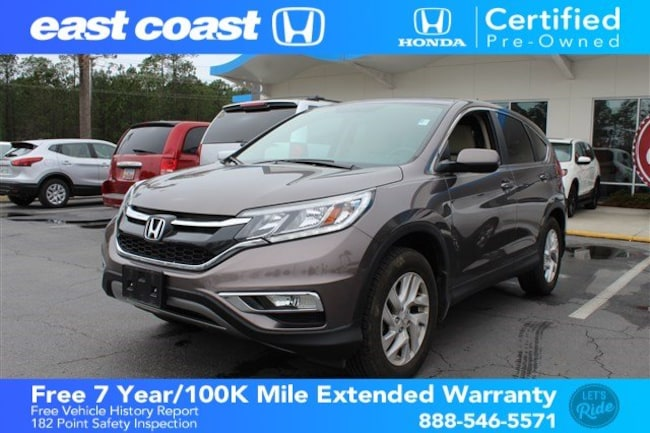 Certified 2016 Honda CR-V EX w/Sunroof, Bluetooth SUV Myrtle Beach, SC