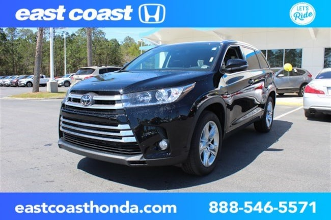 Used 2018 Toyota Highlander Limited 1 Owner, Low Miles SUV Myrtle Beach, SC
