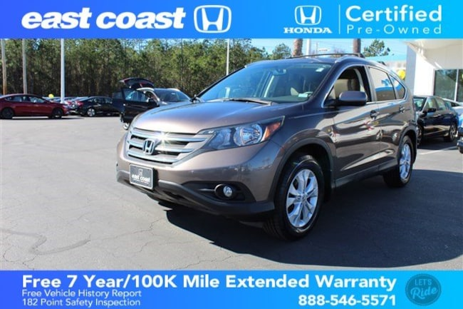 Certified 2014 Honda CR-V EX-L with Bluetooth and sunroof SUV Myrtle Beach, SC