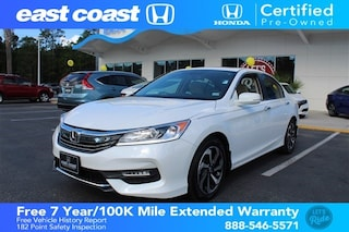 Certified 2016 Honda Accord CVT EX-L 1 owner, Low Miles Sedan Myrtle Beach, SC