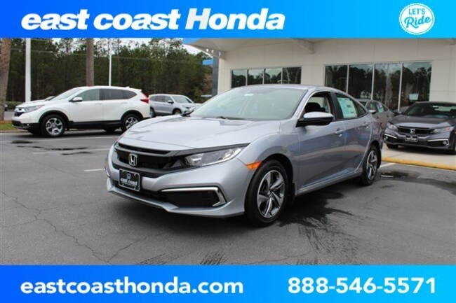 New 2019 Honda Civic LX Sedan Myrtle Beach, SC
