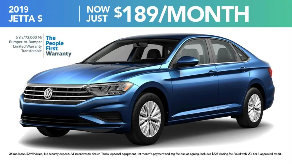 All New 2019 Jetta Volkswagen Dealership South Carolina