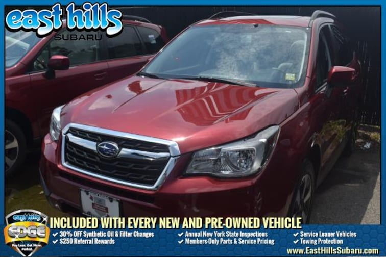 Used 2017 Subaru Forester All-Weather Package SUV Roslyn