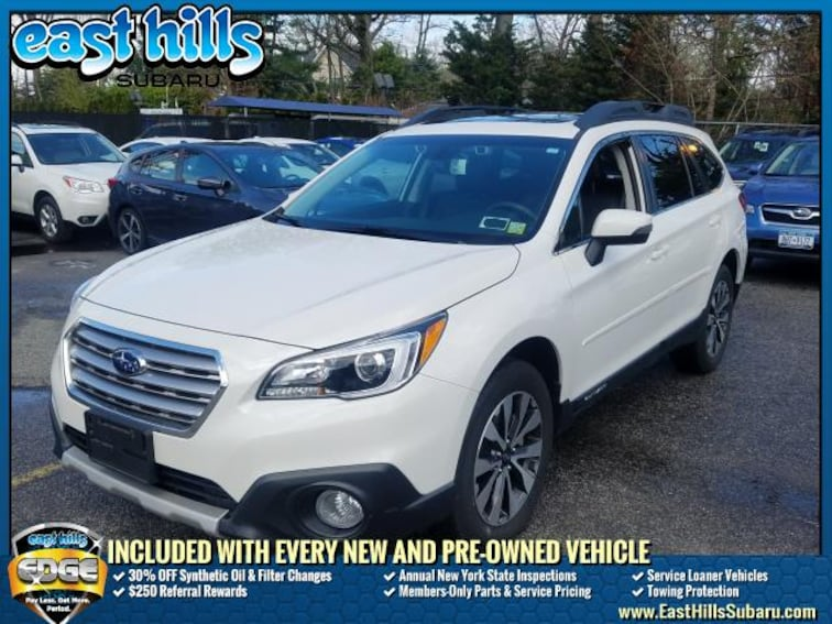 Certified 2017 Subaru Outback EyeSight + Navigation System + High Beam Assist + Sport Utility Roslyn